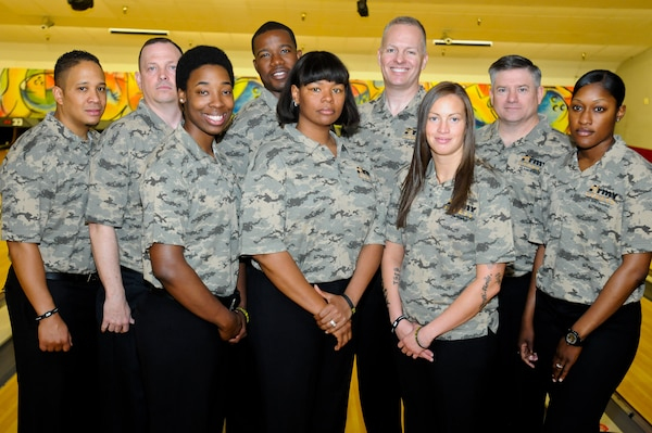All-Army Bowling Team competed against the All-Air Force and All-Navy bowling teams during the 2014 Armed Forces Bowling Championship at Joint Base Lewis-McChord, Wash., May 12-16.