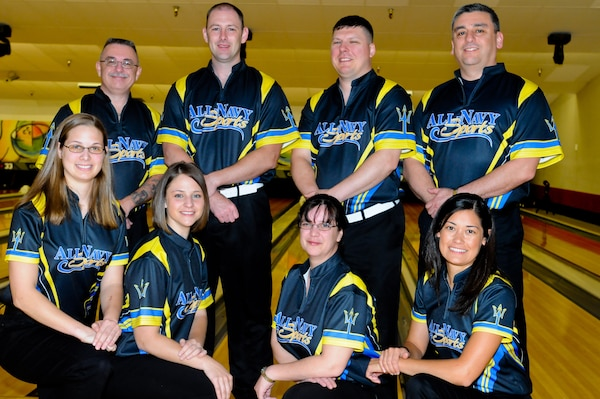 All-Navy Bowling Team competed against the All-Air Force and All-Army bowling teams during the 2014 Armed Forces Bowling Championship at Joint Base Lewis-McChord, Wash., May 12-16.