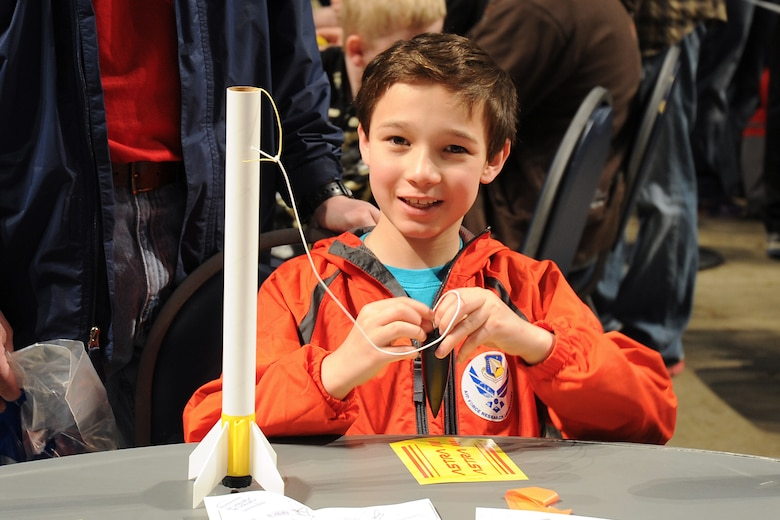 DAYTON, Ohio (05/2014) -- Participants enjoyed a number of hands-on activities during Space Fest on May 16-17 at the National Museum of the U.S. Air Force. (U.S. Air Force photo)