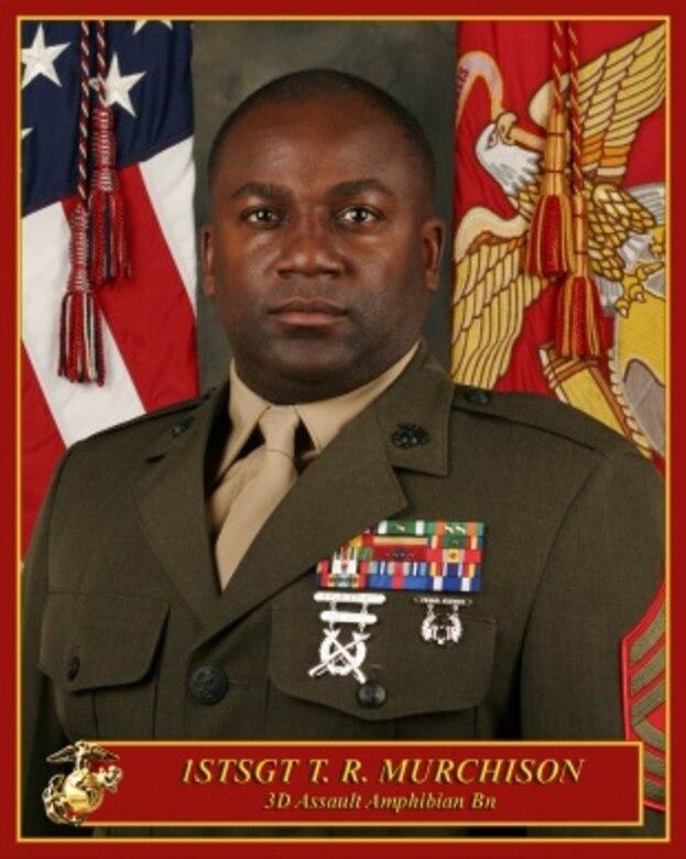 First Sergeant Tony R. Murchison