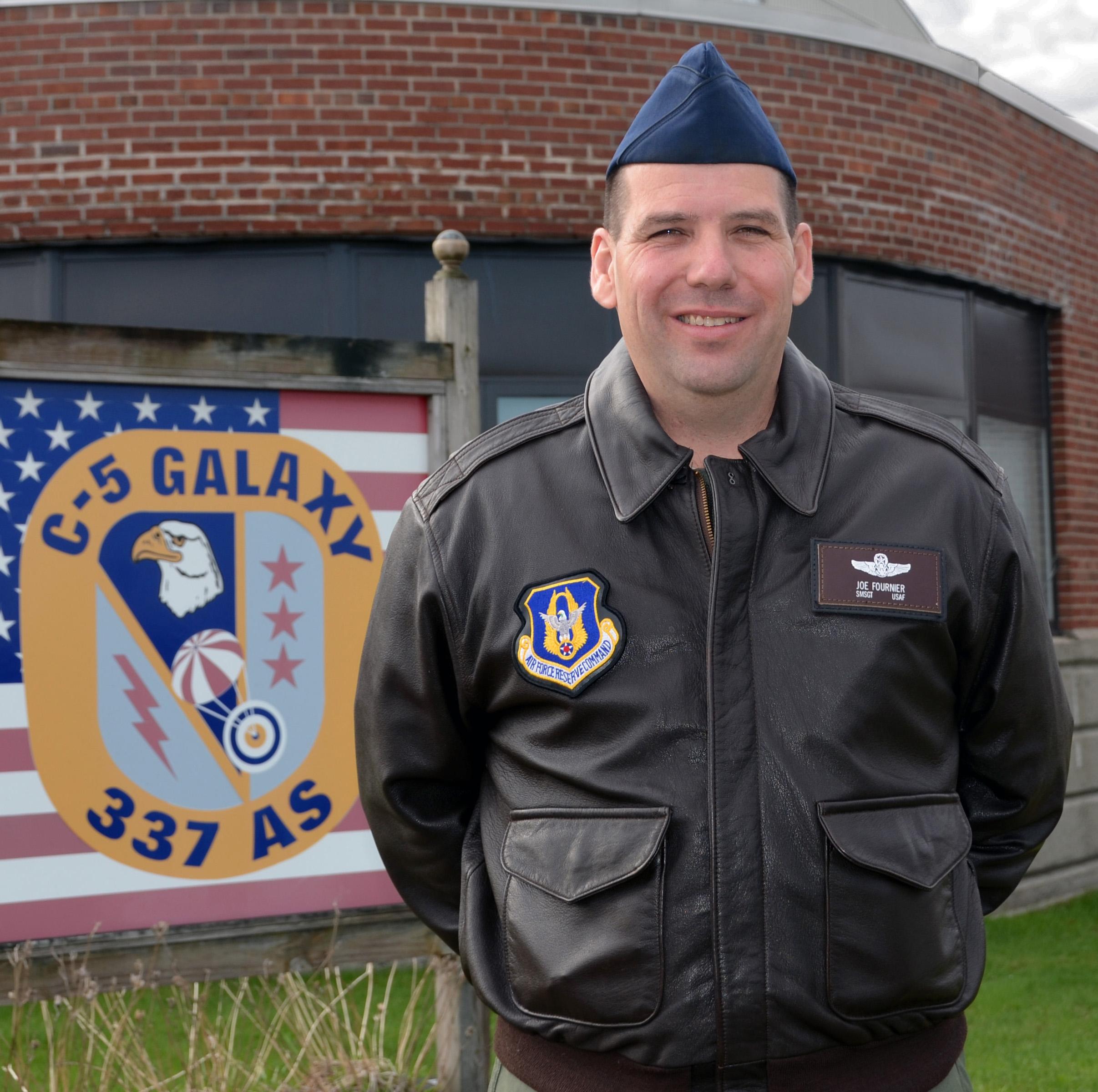 SMSgt. Joe Fournier, 337th Airlift Squadron