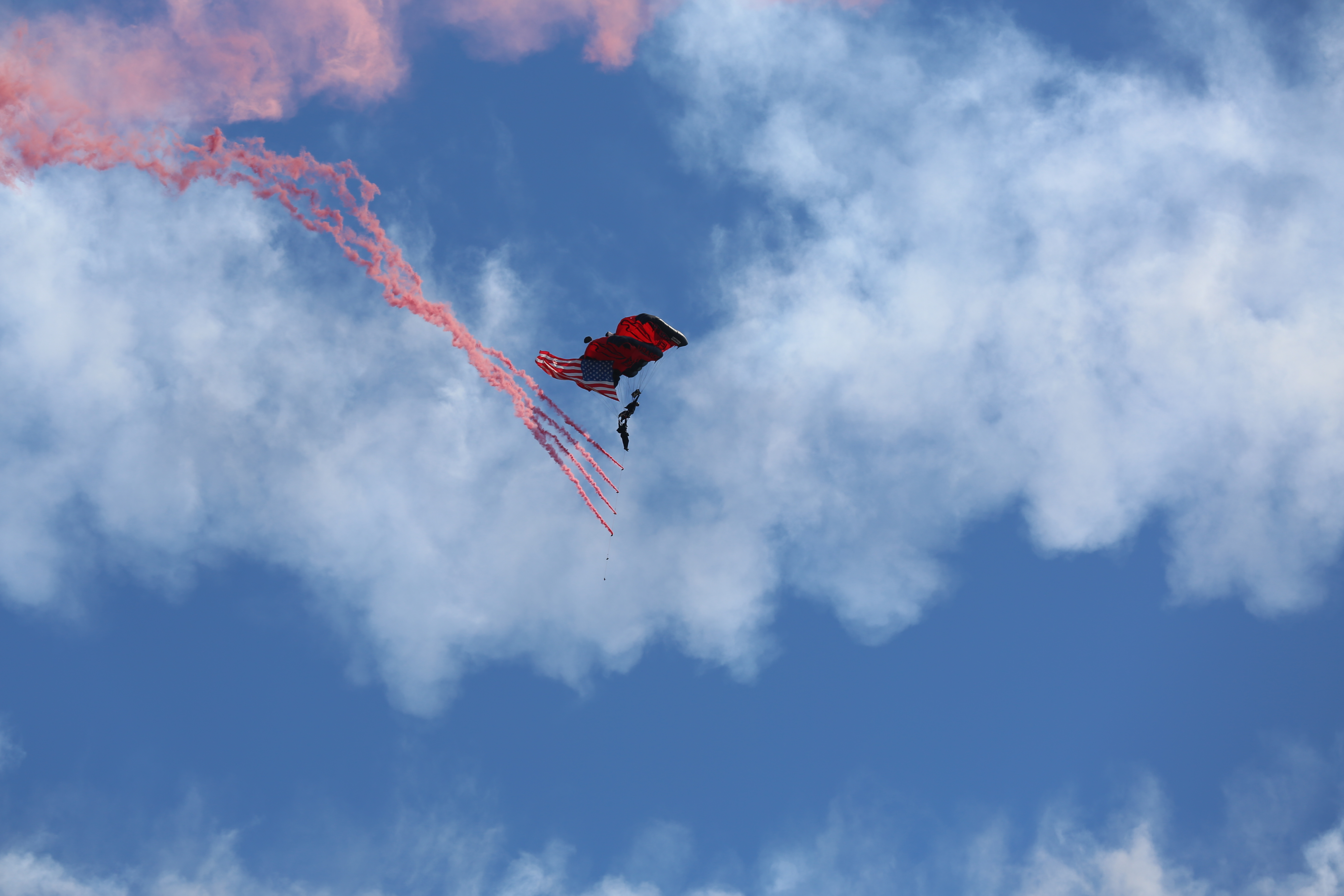 Black Daggers take to sky, jump over Cherry Point