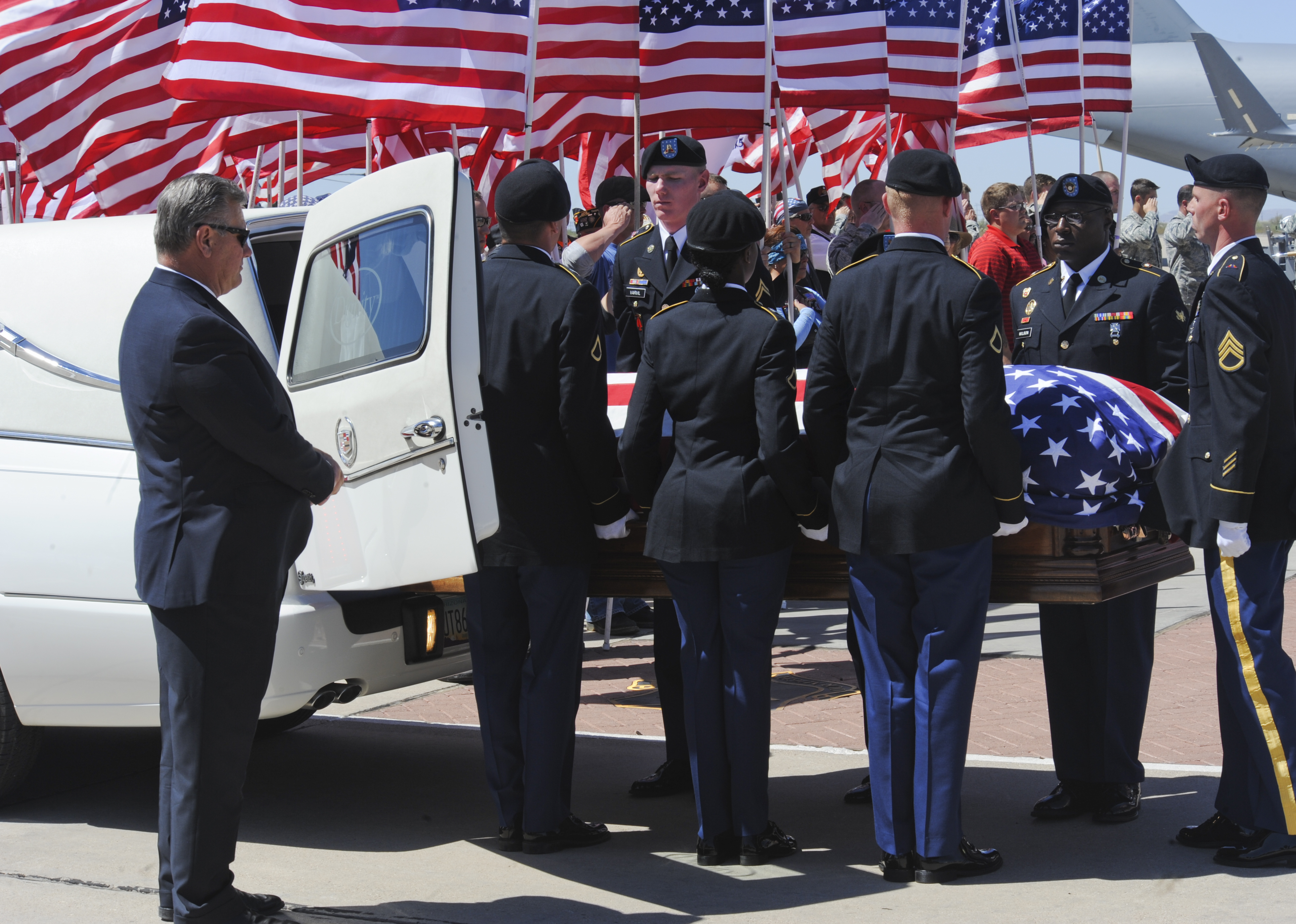 Dignified arrival at D-M > 12th Air Force > Article Display
