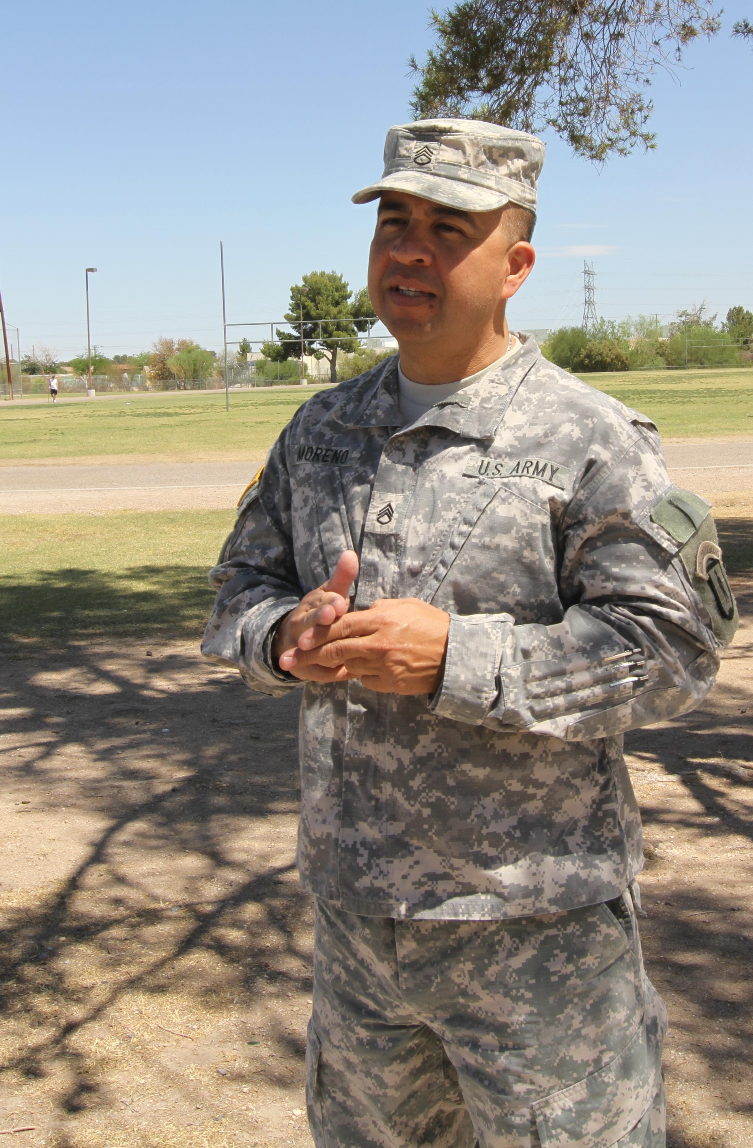Arizona Guard member works to memorialize fallen Soldier