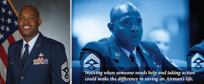 Chief Master Sgt. Cameron B. Kirksey, command chief master sergeant, Air Force Reserve Command