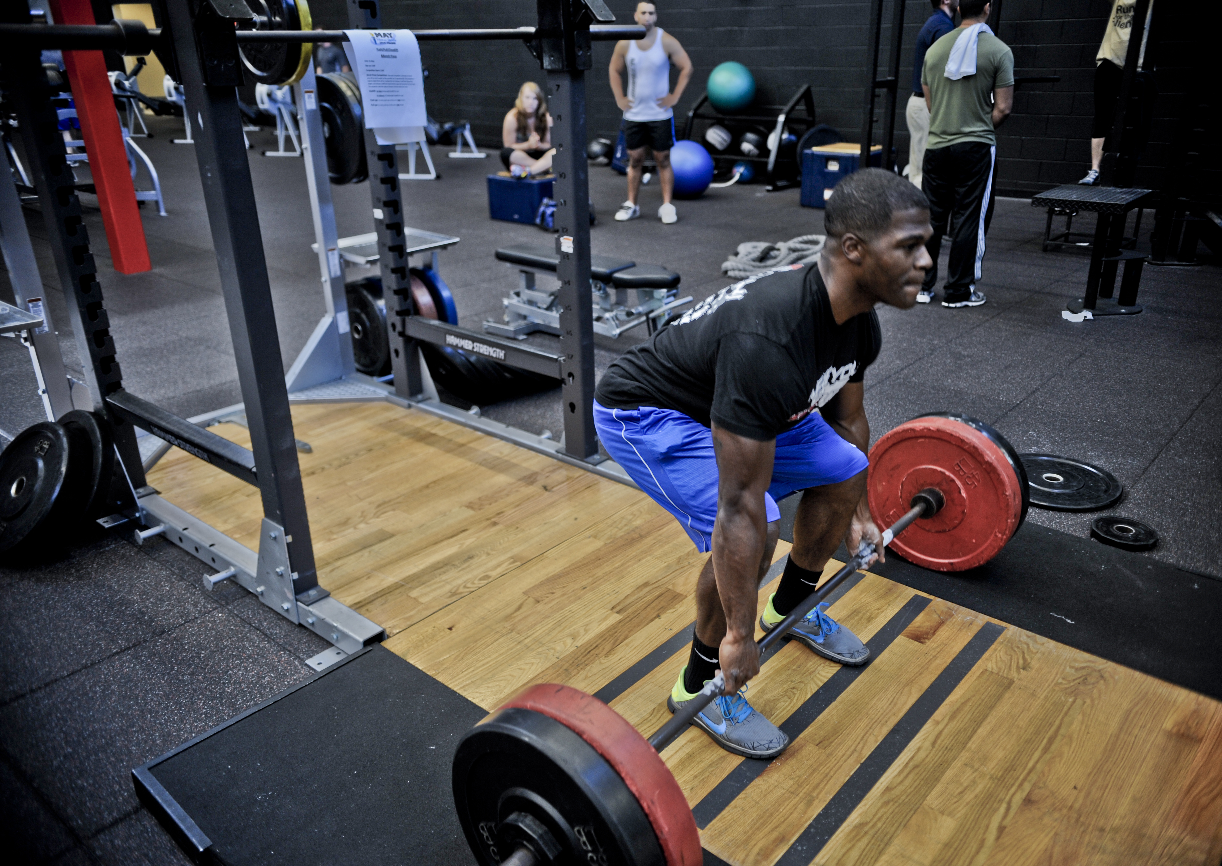 Airman Tests Fitness Places 2nd In Strength Competition Macdill