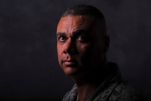 Tech. Sgt. David Gray is an advocate for mental health awareness, having reached out for help following traumatic losses in his own life. Gray is a member of the 113th Security Forces Squadron, District of Columbia Air National Guard. (U.S. Air Force photo/Tech. Sgt. Russ Scalf)