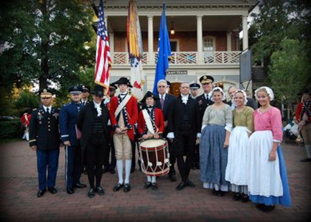 Heritage of America Band in Historic Jamestown