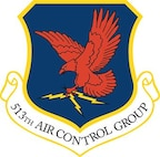The shield for the 513th Air Control Group.
