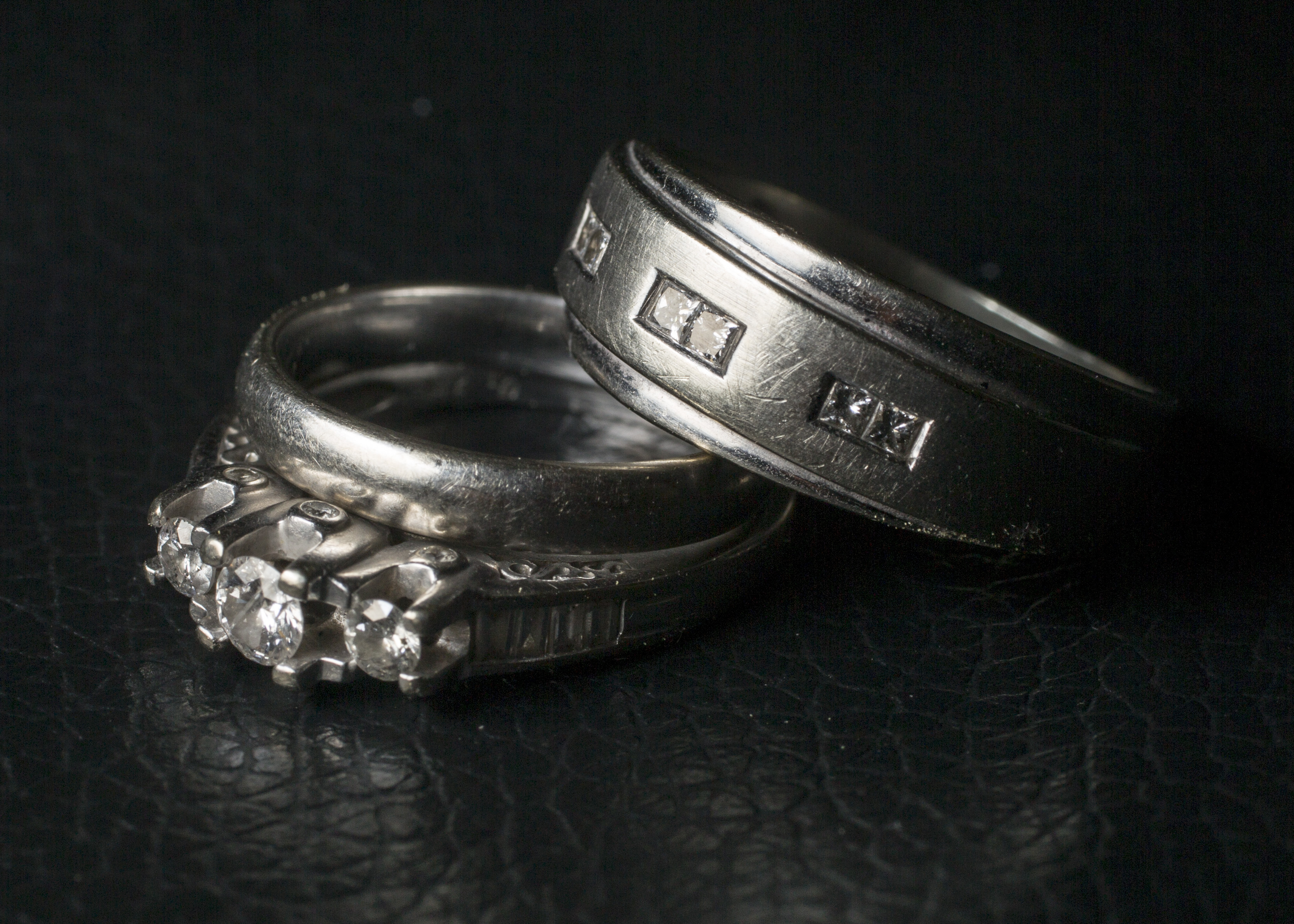 A Photo Illustration Displaying Wedding Rings, A Traditional Symbol Of  Marriage, At Camp Lejeune
