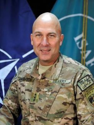 Army Lt. Gen. Joseph Anderson, commander of the International Security Assistance Force Joint Command in Afghanistan. DoD photo
