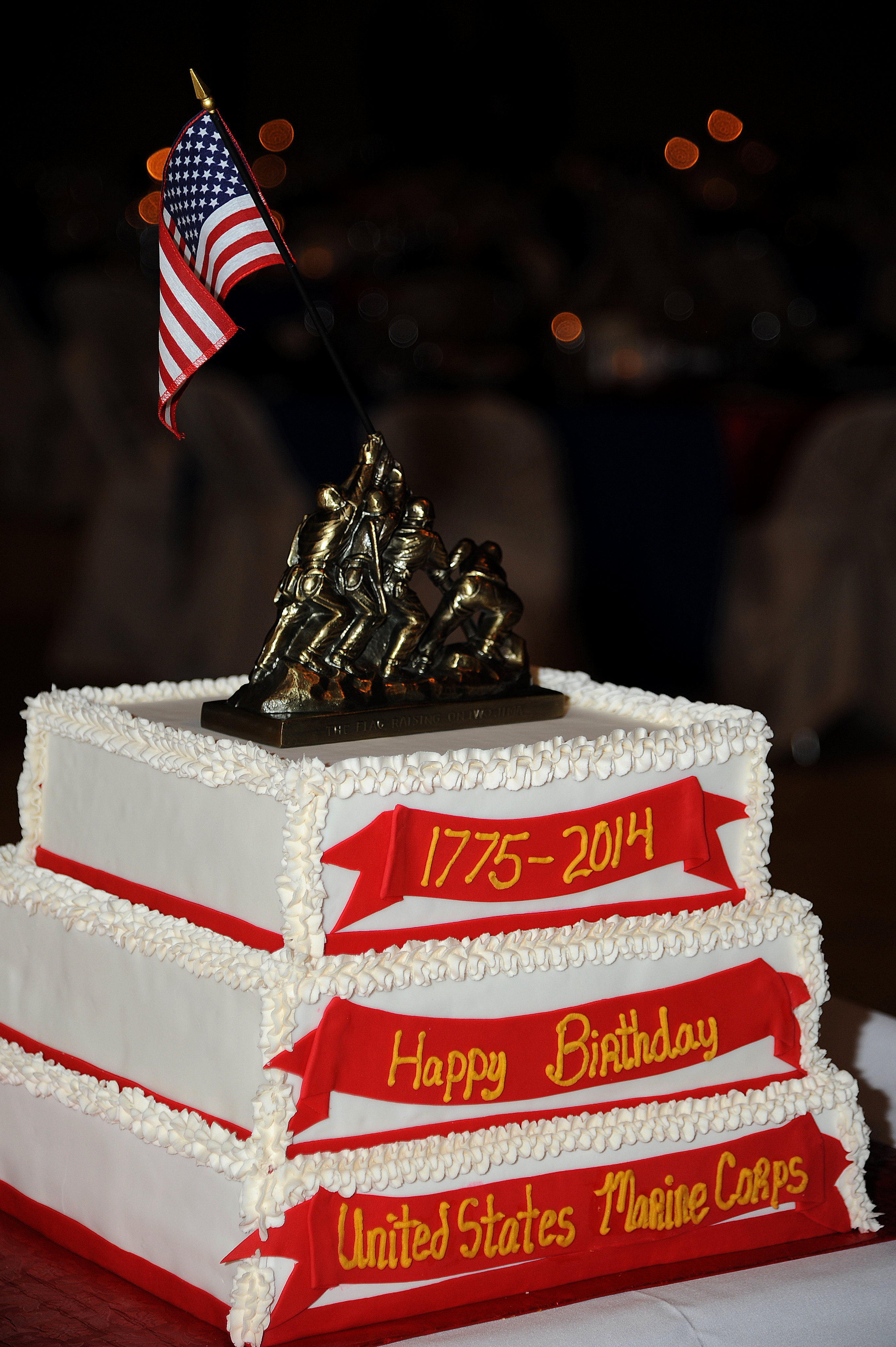Marines Celebrate 239th Birthday Goodfellow Air Force Base