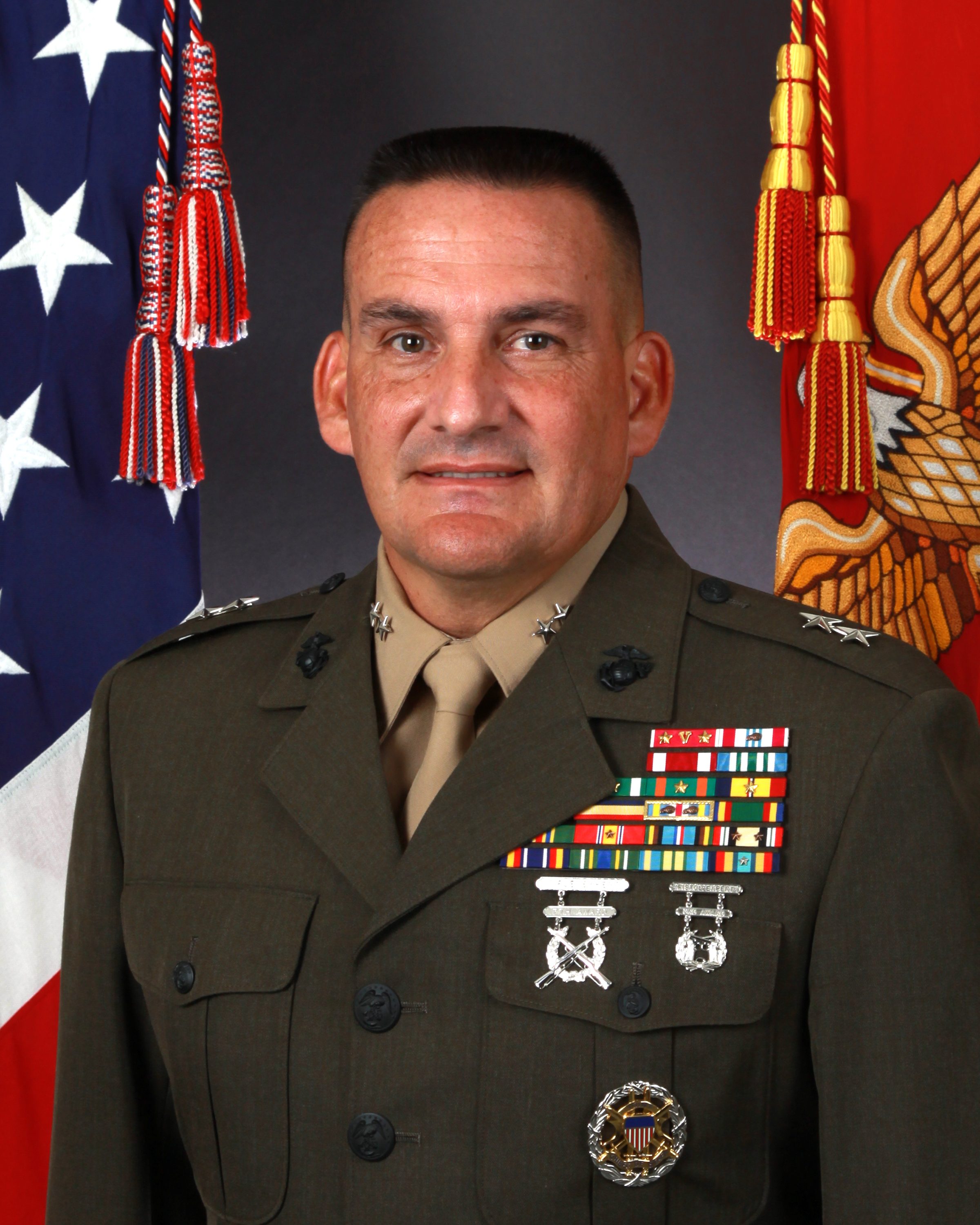 major general frederick m padilla usmc national defense