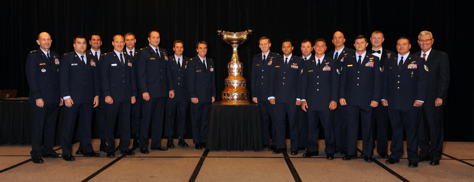 A group photo from the Fall Awards Dinner at the Marriott Crystal Gateway in Arlington, Va. (Courtesy photo)