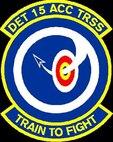 Detachment 15 Training Support Squadron. (U.S. Air Force graphic)