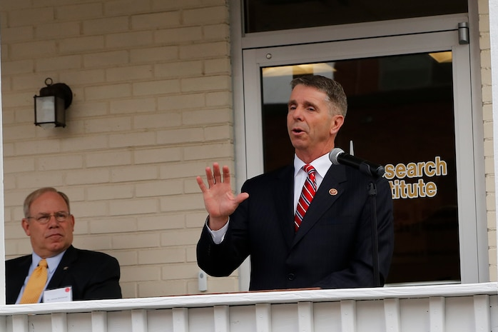 "Virginia Rep. Rob Wittman said the expanded modeling and simulation facility at Marine Corps Base Quantico will help the Corps ""integrate real-world data to our troops."" The facility was opened Nov. 12 by officials from Marine Corps Systems Command and Georgia Tech Research Institute."