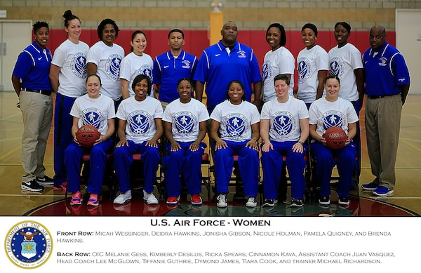 US All Air Force Women's Basketball Team