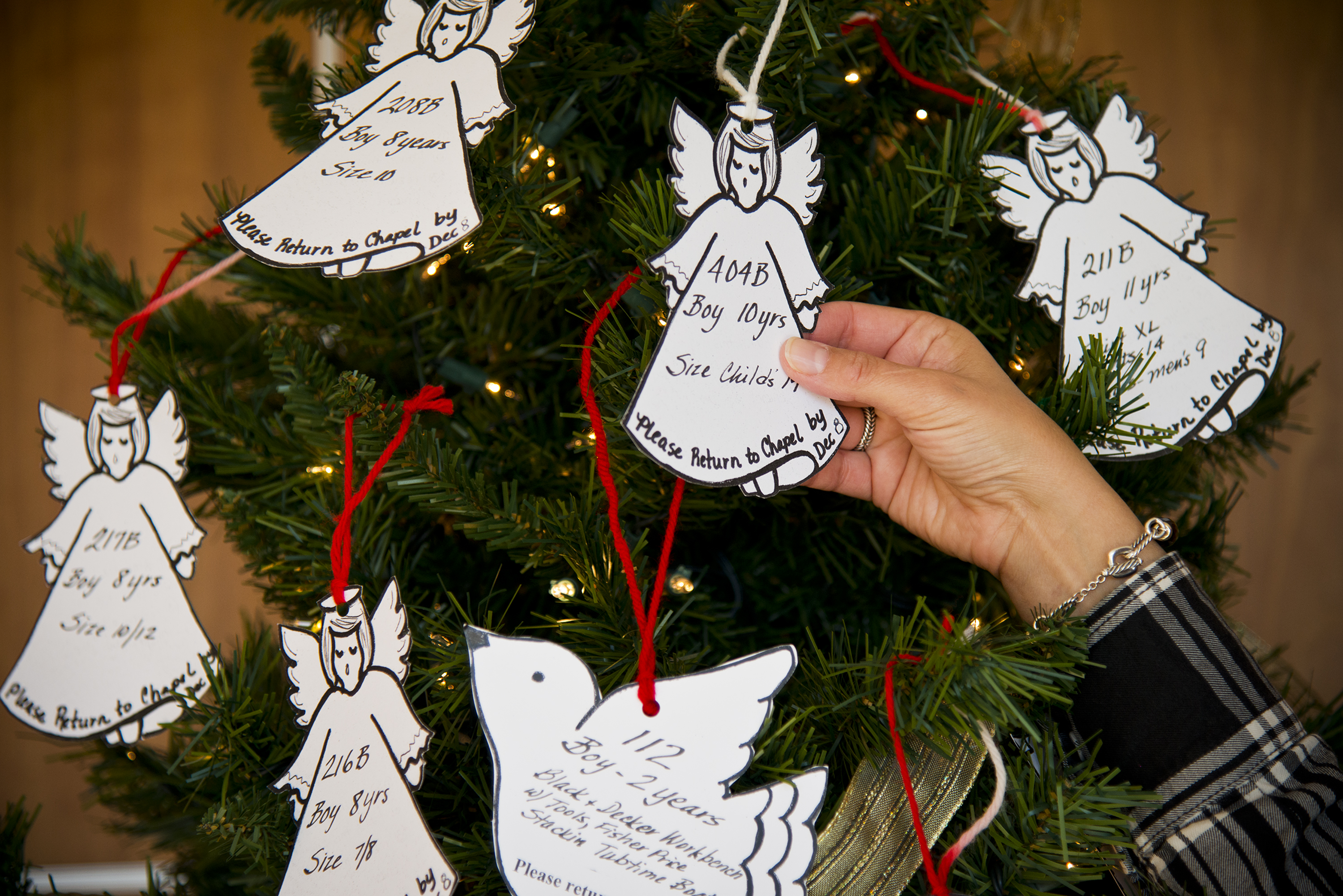 "Christmas Wishes Are Hung On Eglin's ""Angel Trees"" > Eglin"