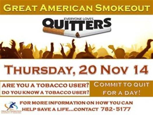 Great American Smokeout 2014