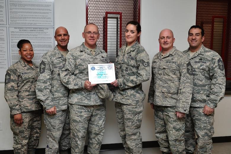 Chief's Group award presentation