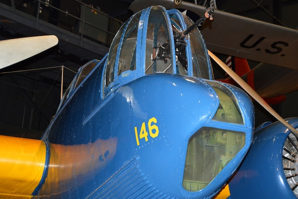 DAYTON, Ohio -- Martin B-10 in the Early Years Gallery at the National Museum of the United States Air Force. (U.S. Air Force photo)