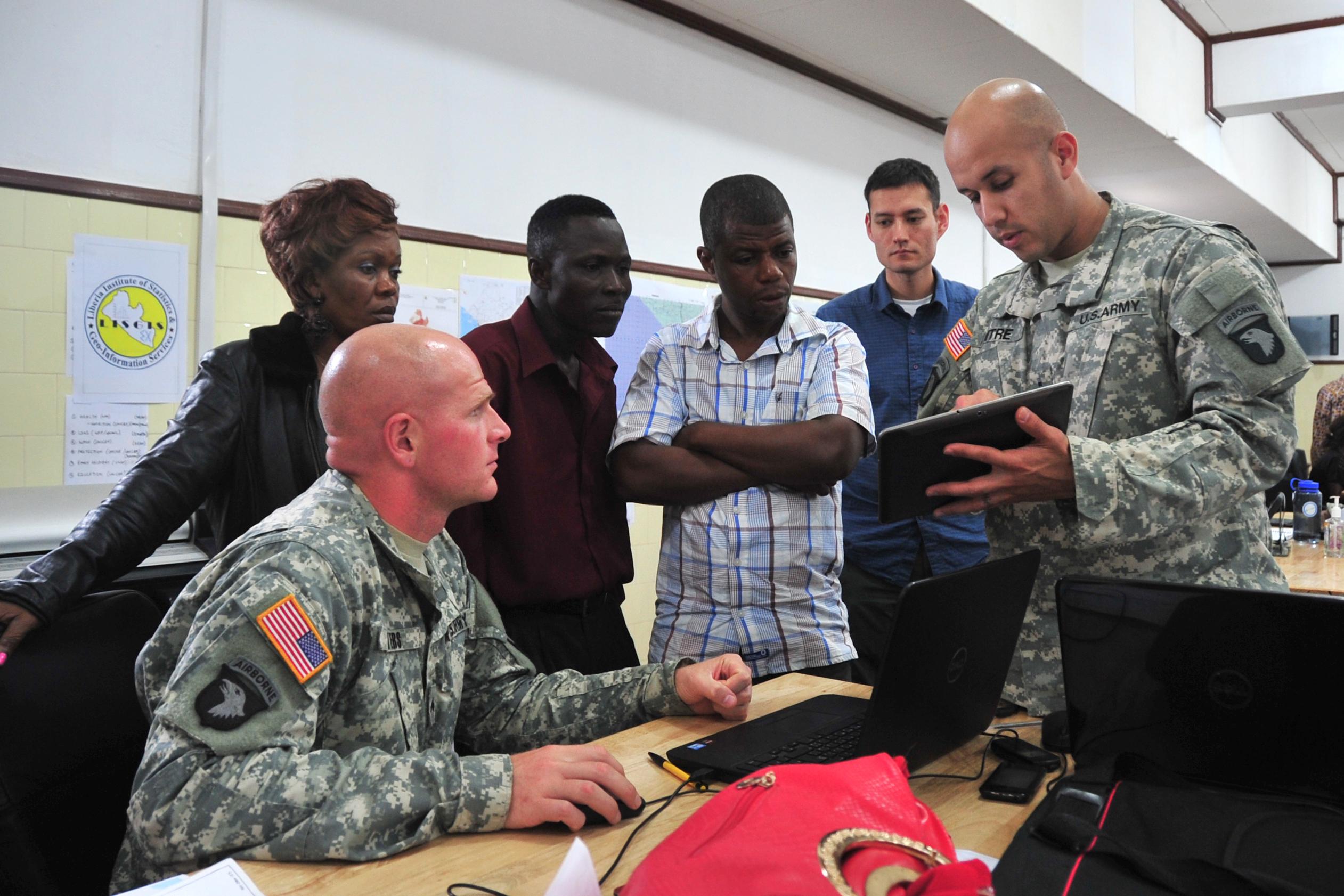 Dod Agency Offers Public Geospatial Intel To Help Ebola Fight