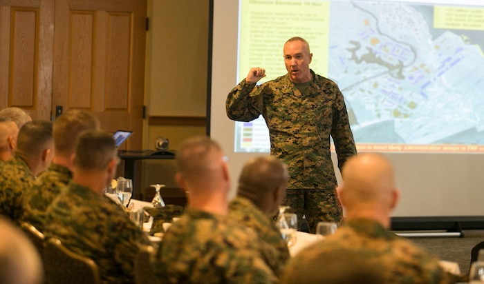 Marine Corps Air Station Beaufort hosted commanding generals from installations across the Corps for the Marine Installations Board, Nov. 17-20. The MIB serves as an overarching installations advisory body in support of bases and stations throughout the Marine Corps.