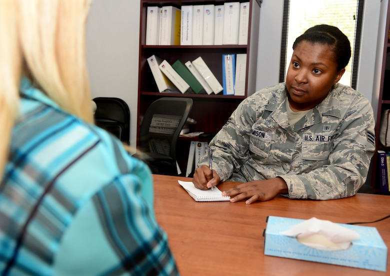 Mental Health Technician Named Airman Of The Month Air Force