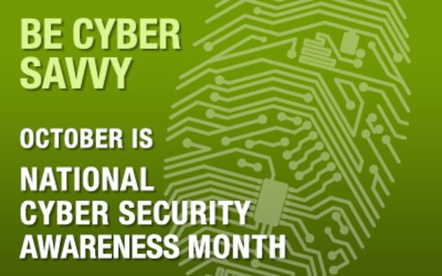 The goal of National Cyber Security Awareness Month, which takes place each year in October