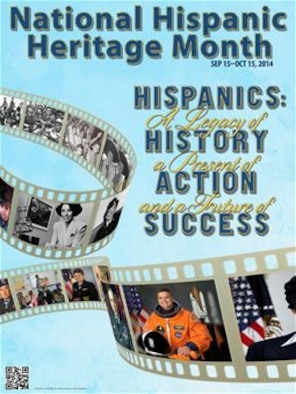 Hispanic Heritage Month (courtesy graphic)