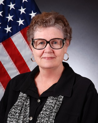 Phyllis Jeter, director of Mental Health for the 94 Airlift Wing, poses for an official photo Sept. 30, 2014, at Dobbins Air Reserve Base, Ga. Jeter is a native of south Georgia. (U.S. Air Force photo by Brad Fallin/Released)