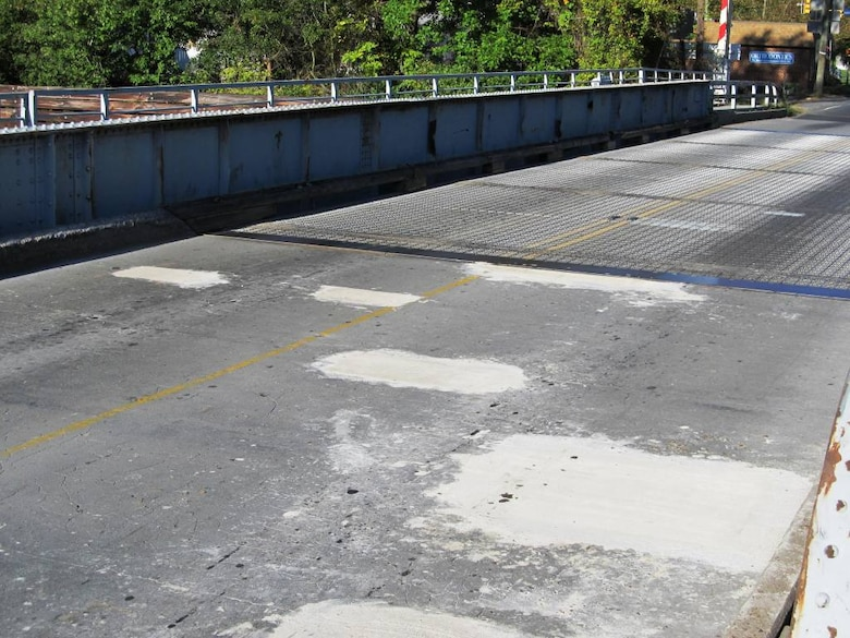 Maintenance repairs to saw cut and patch deteriorated concrete portions of the Deep Creek Bridge's approach road in Chesapeake, Va., are completed ahead of schedule.