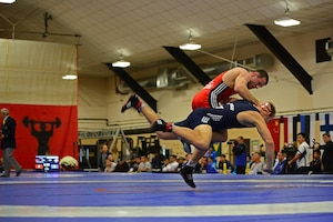 Competition intensifies at the 29th CISM World Military Wresting Championship at Joint Base McGuire-Dix-Lakehurst, New Jersey 1-8 October.