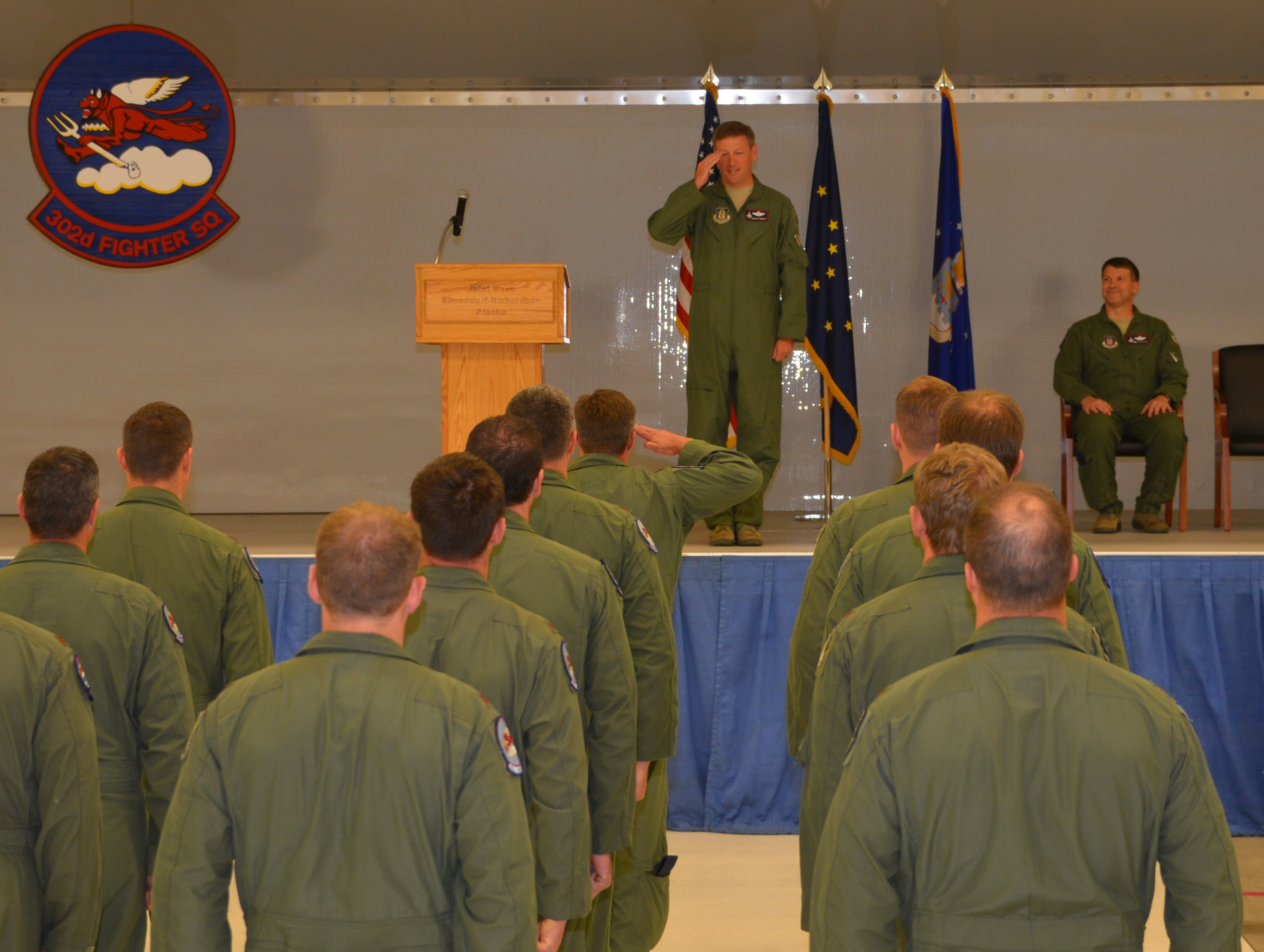 Air Force Reserve 302nd Fighter Squadron Welcomes New