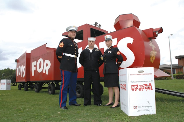 Reserve Marines are collecting new, unwrapped toys for less fortunate children at various locations throughout the base and surrounding Albany communities. The 2014 U.S. Marine Corps Reserve Toys for Tots Program's annual campaign began aboard Marine Corps Logistics Base Albany, Oct. 1.