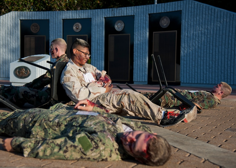 eod school exercise tests base  local first responders