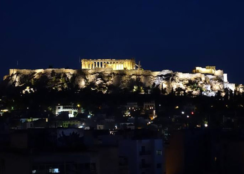 One of the most picturesque locations in Athens, the Acropolis is an ancient citadel that sits high above the city and includes the world-famous Parthenon. City views from the top give travelers some of the best picture opportunities in Athens. (U.S. Air Force photo/Senior Airman Michael Battles)
