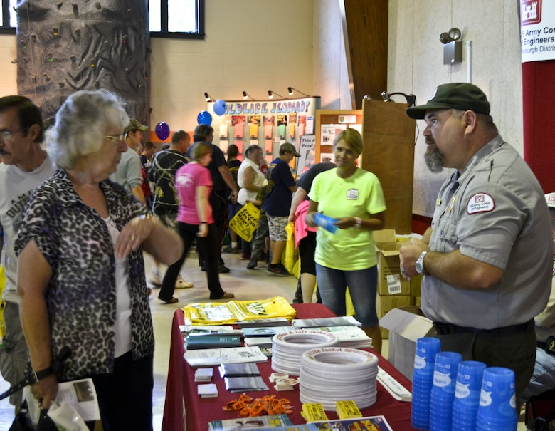 Approximately 13,000 hunting and fishing enthusiasts converged on the grounds of Army Corps of Engineers property of what now is the beautiful Stonewall Jackson Lake State Park for the 18th annual National Hunting and Fishing Days Celebrations, September 27-28.