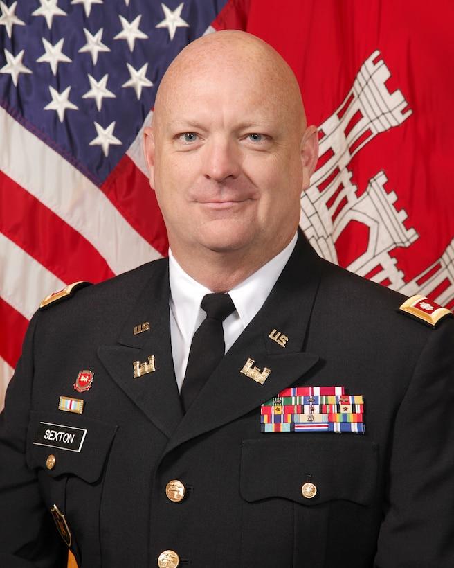 Lt. Col. Michael Sexton.