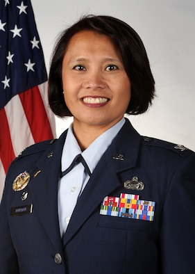 Col. Rose Jourdan, 460th Mission Support Group Commander