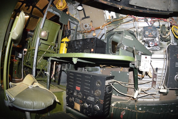 DAYTON, Ohio - Consolidated B-24D interior at the National Museum of the U.S. Air Force. (U.S. Air Force photo)