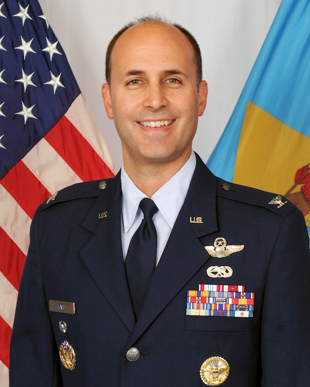 Colonel Don Bevis, vice commander, 166th Airlift Wing