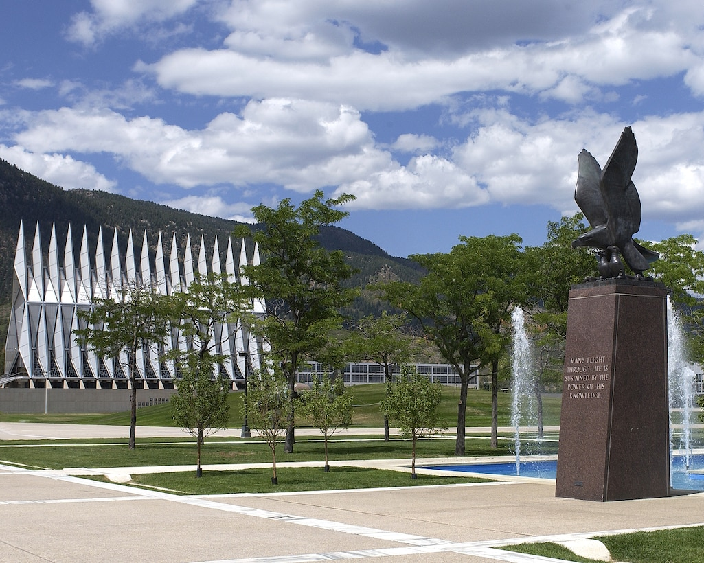 The Air Garden at the U.S. Air Force Academy. (U.S. Air Force/Courtesy Photo)