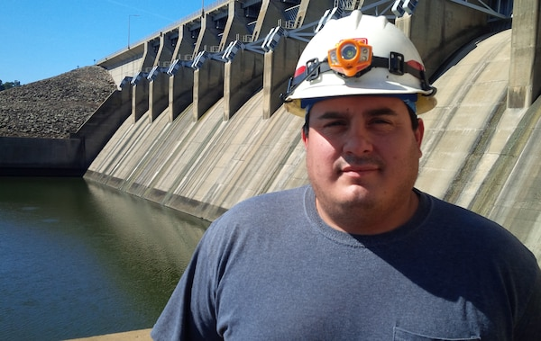 Anthony Condi is a senior electrician at the Eufaula Dam Powerhouse.