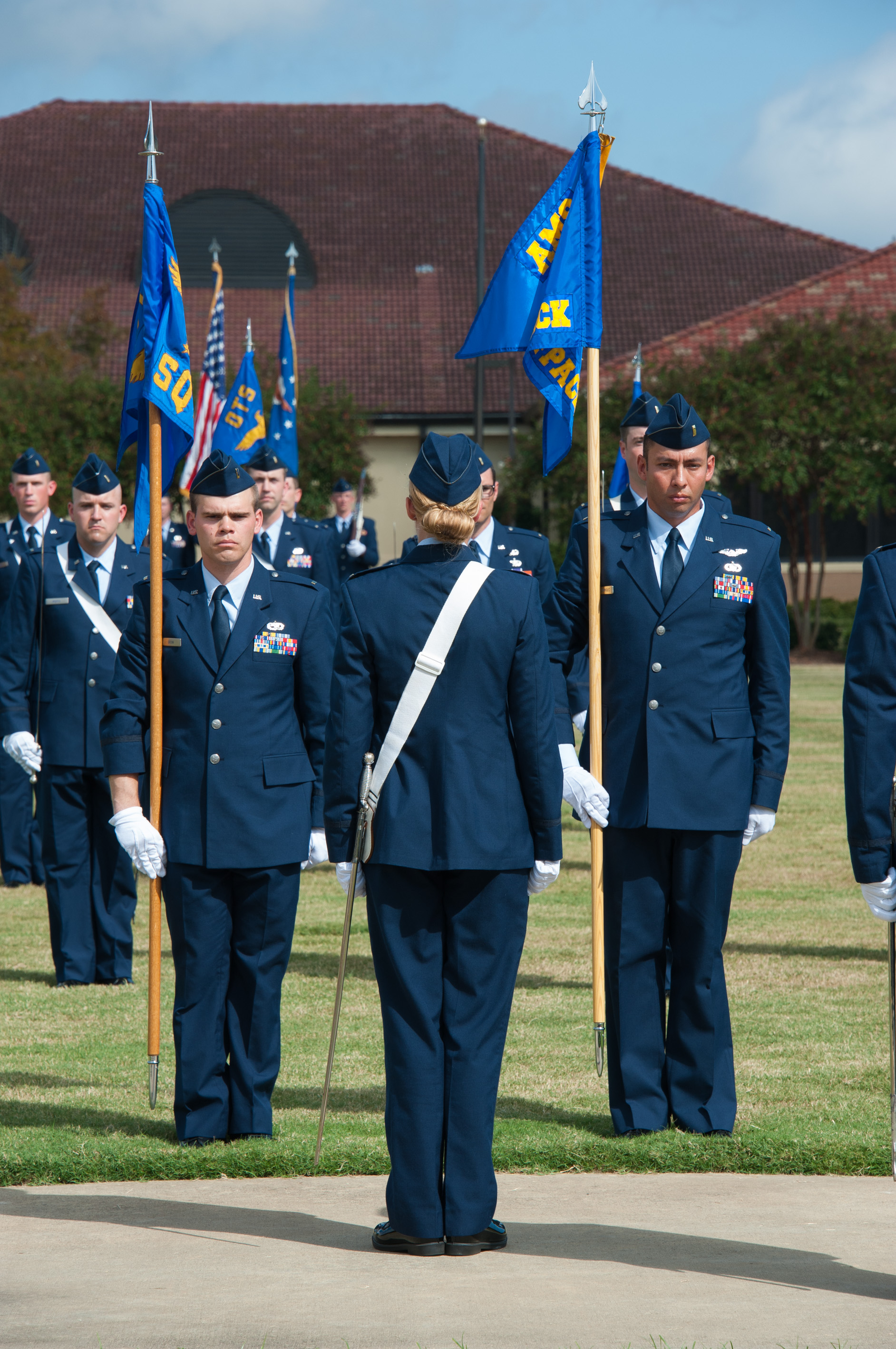 Officer training school graduates first total force class u s air force article display - Military officer training school ...