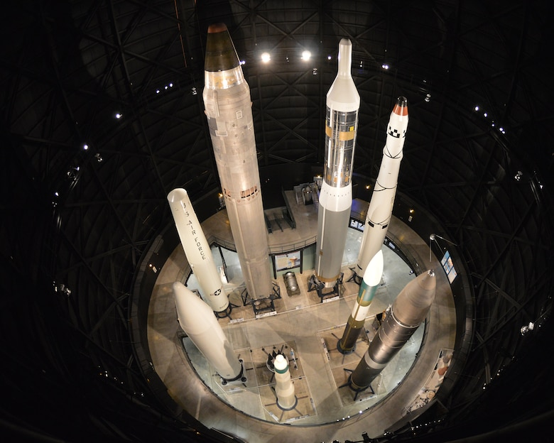 DAYTON, Ohio - Missile and Space Gallery overview at the National Museum of the U.S. Air Force. (U.S. Air Force photo)