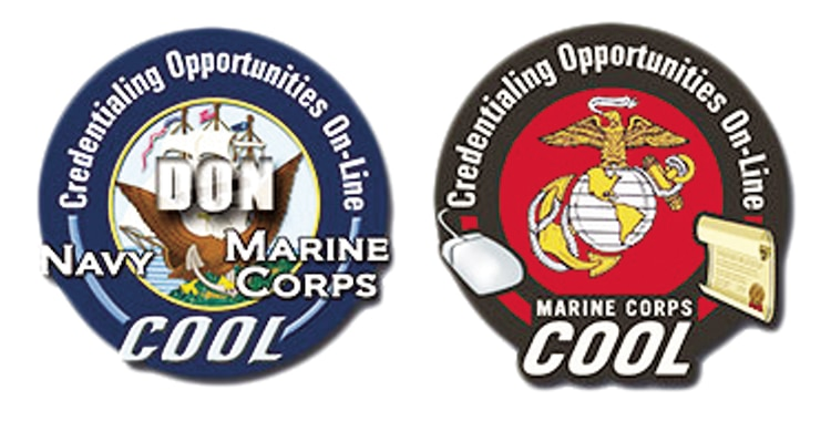 Marine Corps Credentialing Opportunity On-line is the newest awareness and information resource capability that assists active and Reserve Marines in learning about certifications and licenses related to their military occupational specialties.
