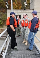 The U.S. Army Corps of Engineers' Great Lakes and Ohio River Division Commander, Brig. Gen. Richard Kaiser visited the Pittsburgh District Oct. 15 - 16 for an orientation tour.