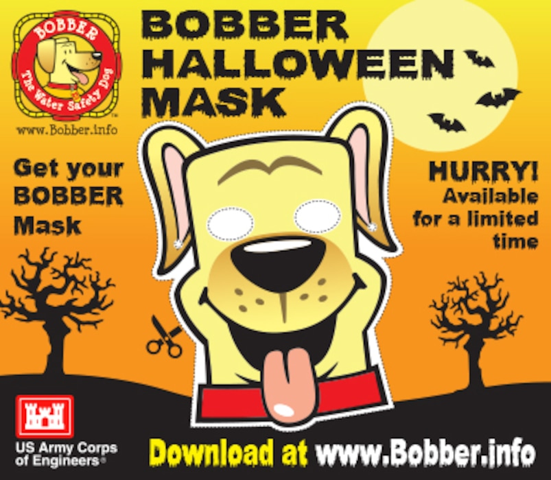 Get your Bobber Halloween mask and pumpkin carving stencils today at www.bobber.info. They're only available for a limited time!