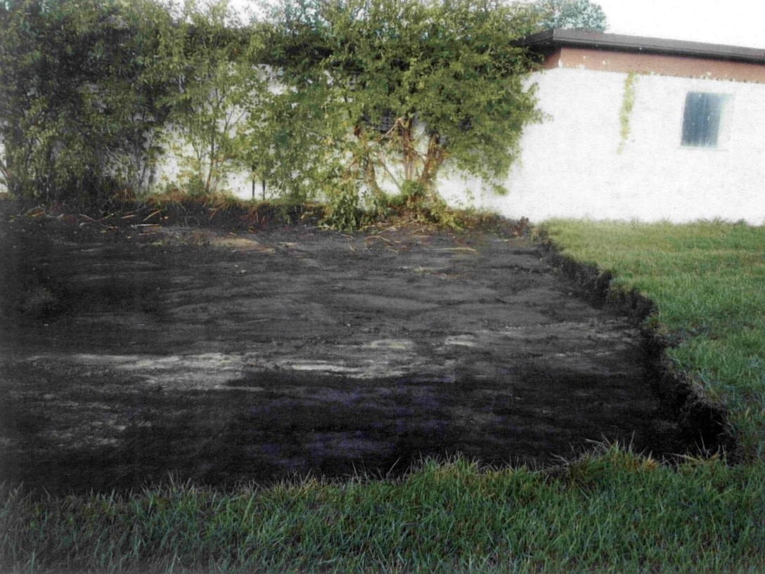 Twelve inches of surface soil was removed from the contaminated areas at the former Hanna City Air Force Station in Illinois and replaced with clean soil to restore the site.